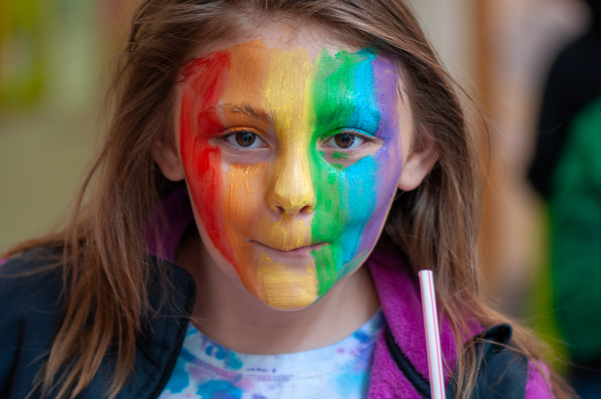 Girl-with-Painted-Face