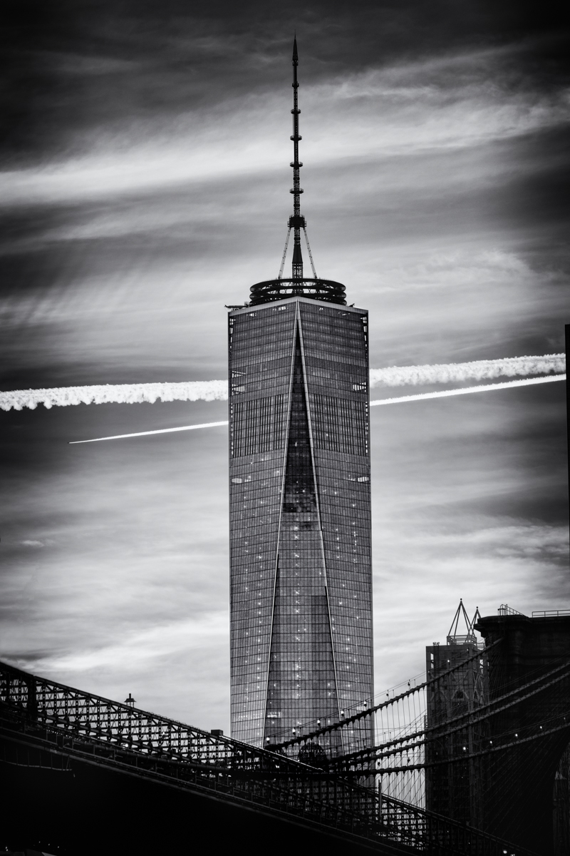 lewis.rothman Freedom Tower fom Brooklyn #FreedomTower#NYC#Skyscrapers#FreedomTower#NYC#Skyscrapers#graphic