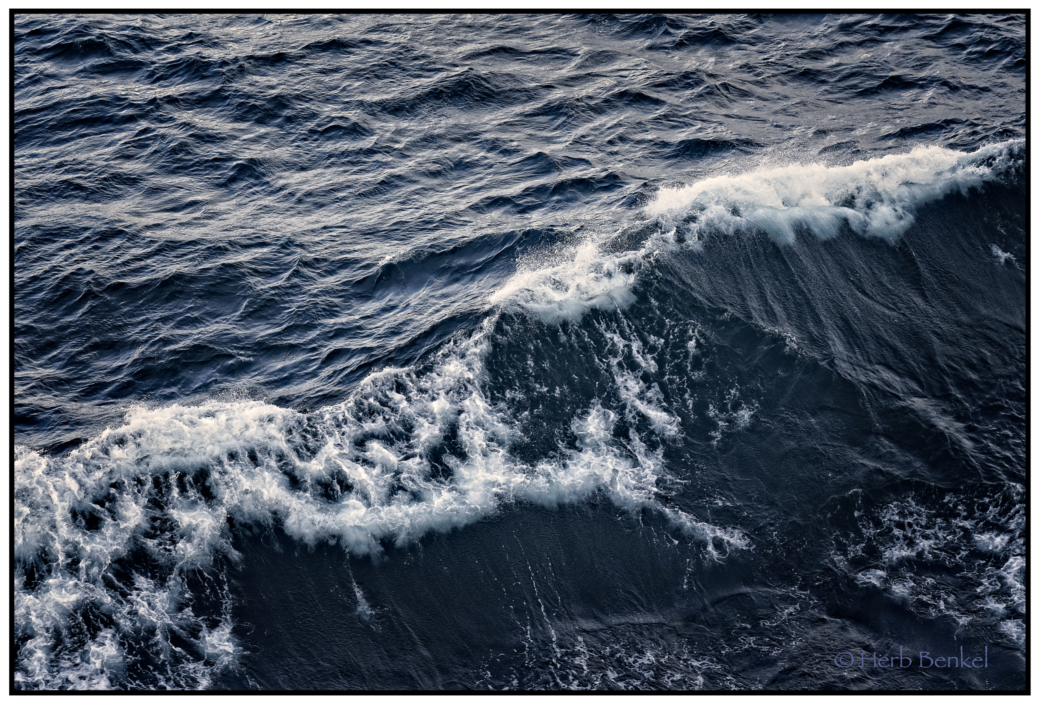 Bow Wave, Watermarked