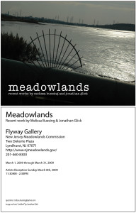 Melissa Buesing and Jonathan Glick Medowlands Gallery Show