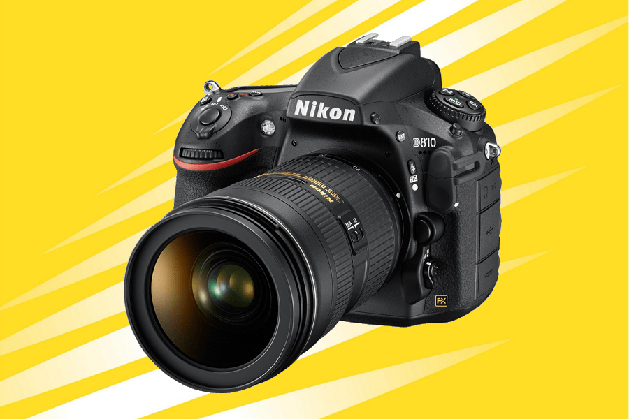 Try the new Nikon D810