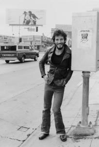 Bruce Springsteen on Sunset Boulevard