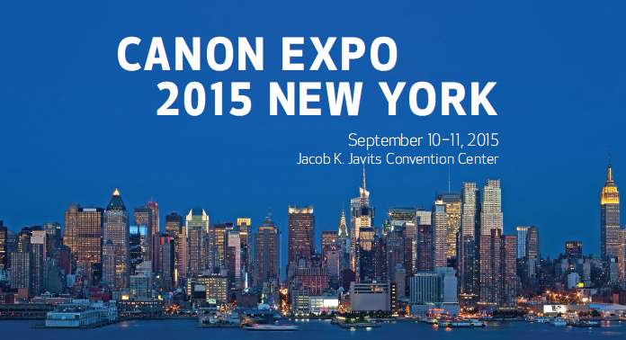 Canon Expo 2015 New York City