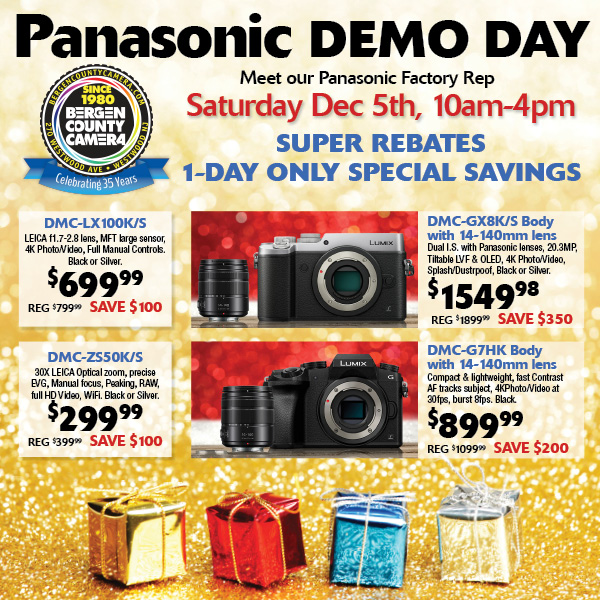 Manufacturer Demo Days Archives - Bergen County Camera Blog