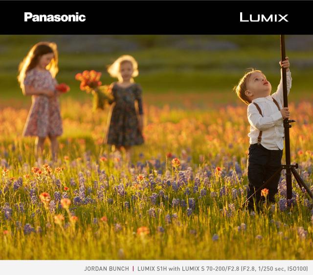 Panasonic Lumix - Jordan Bunch - Lumix S1H with Lumix 70-200mm F/2.8