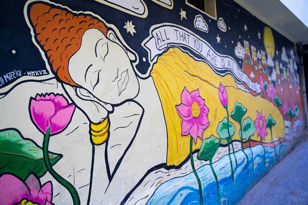 Himalayan mural